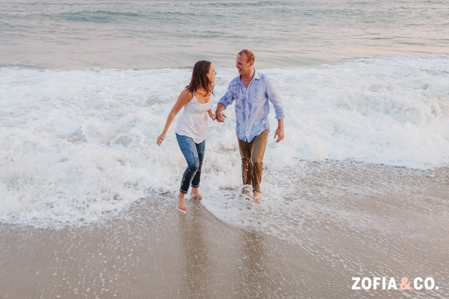 Nantucket Beach Engagement by Zofia and Co.