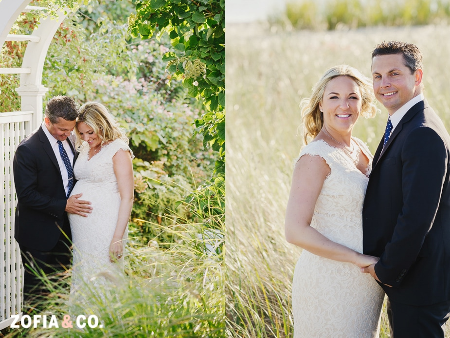 Wauwinet Elopement Nantucket Wedding by Zofia and Company