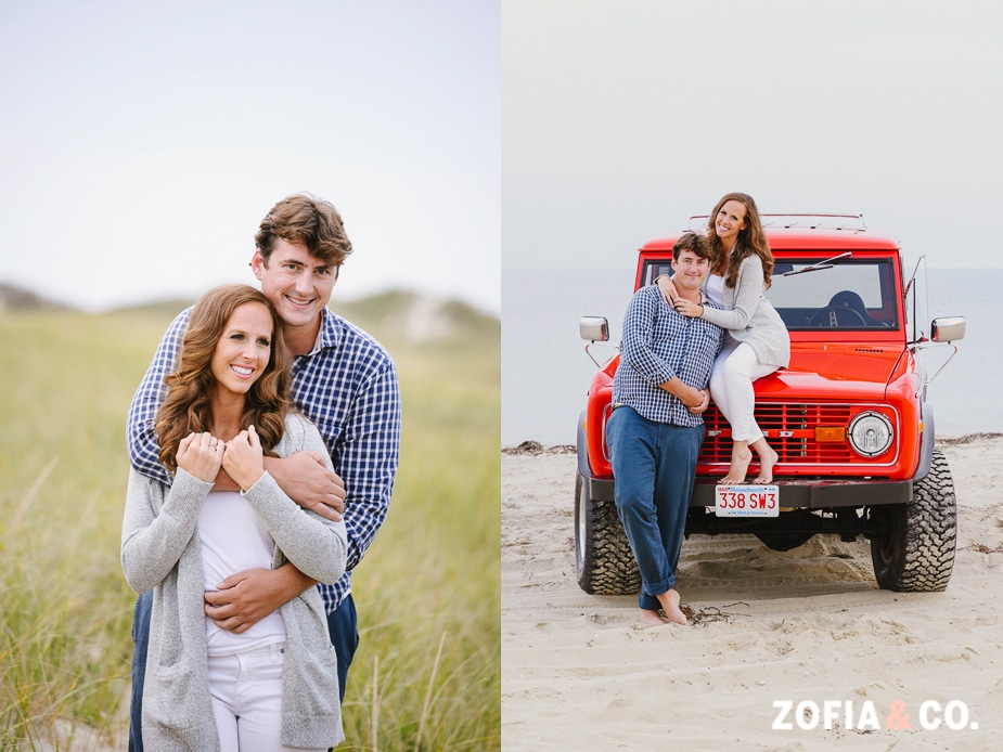 Nantucket Beach Engagement, Zofia and Co.