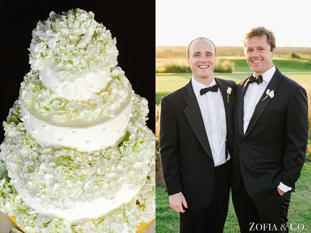 Nantucket wedding photography at Sankaty Golf Club by Zofia and Co.