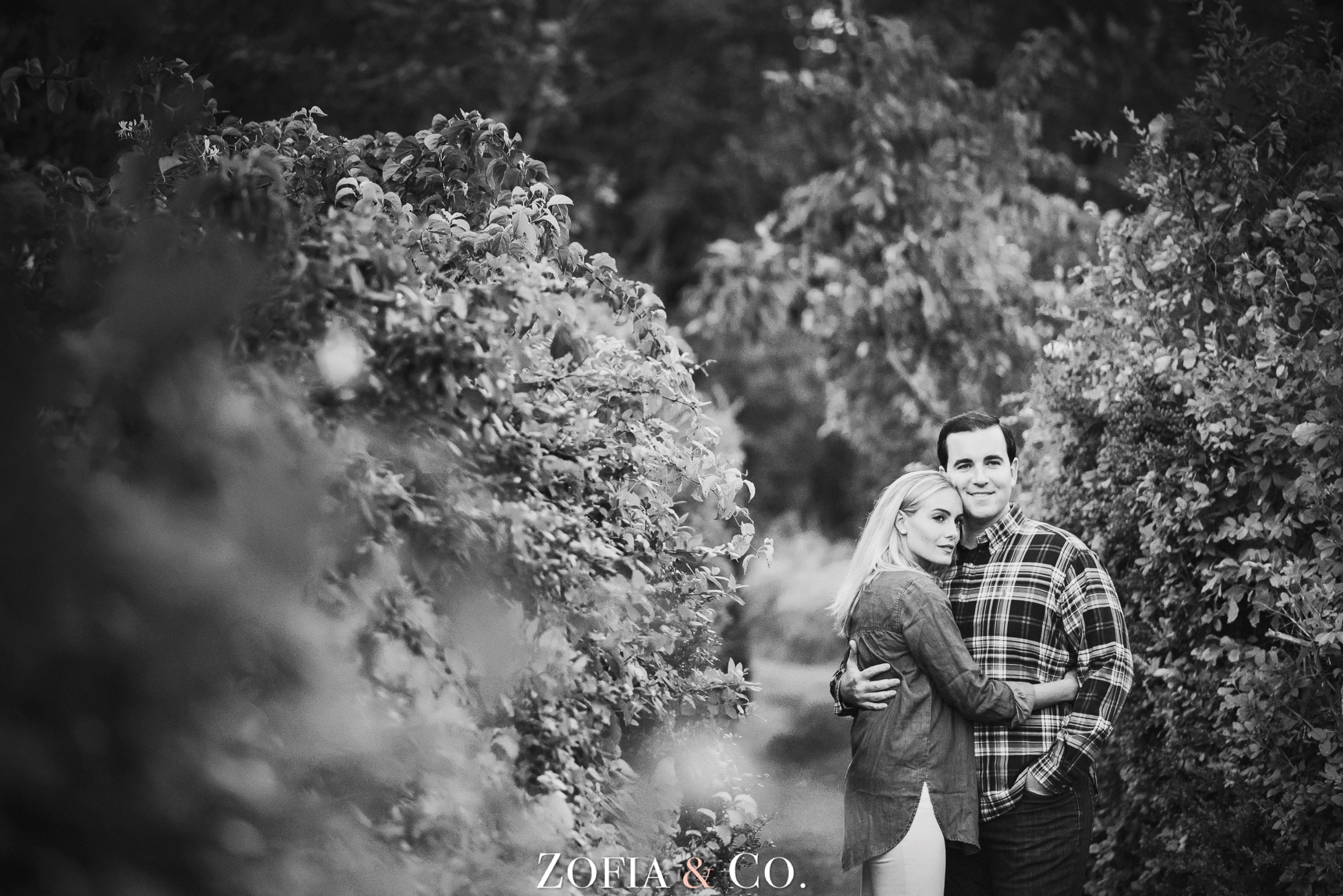 Nantucket engagement session by Zofia and Co. Photography