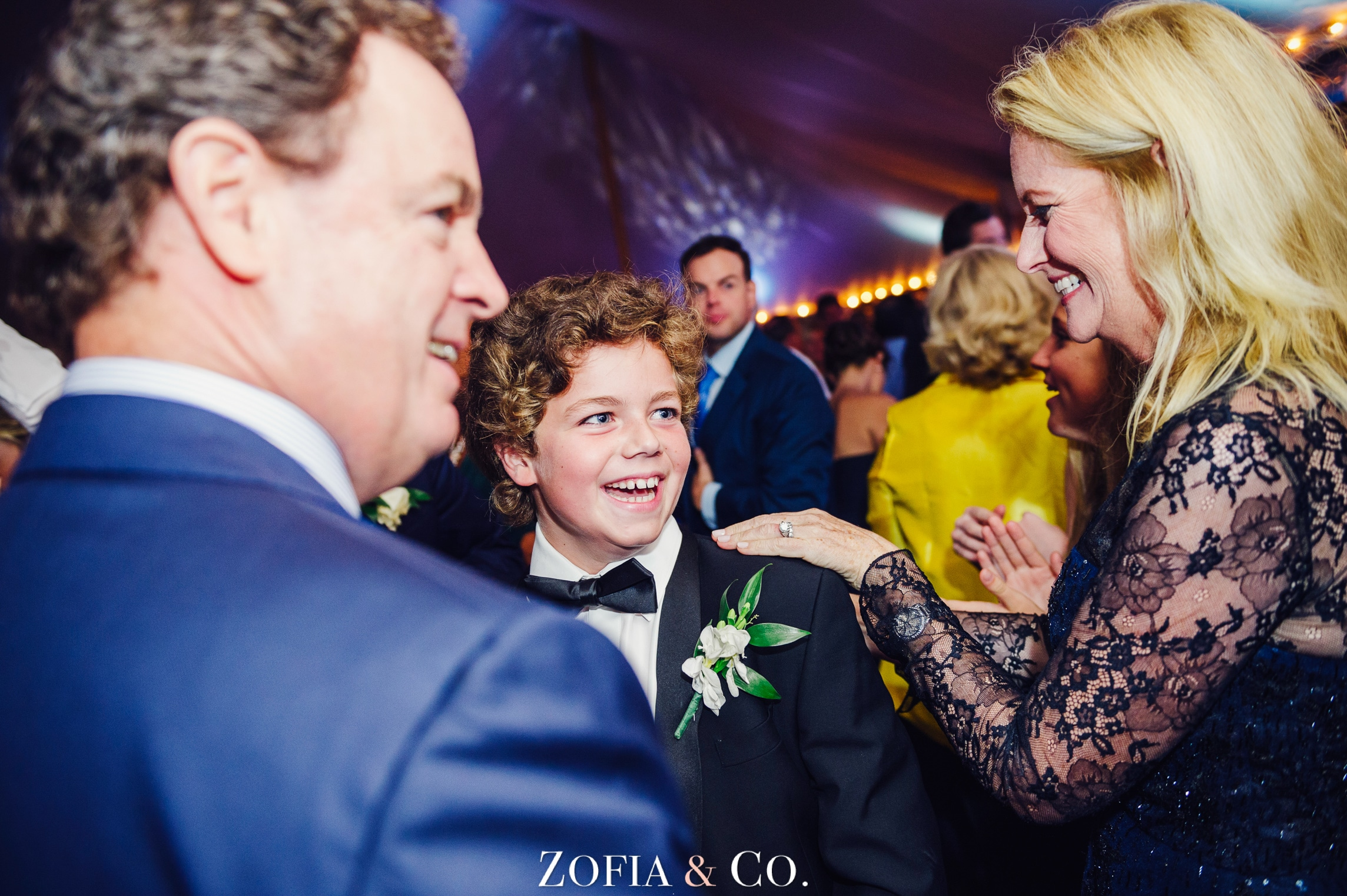 Nantucket wedding at St Mary's and Sankaty Head Golf Club by Zofia and Co. Photography