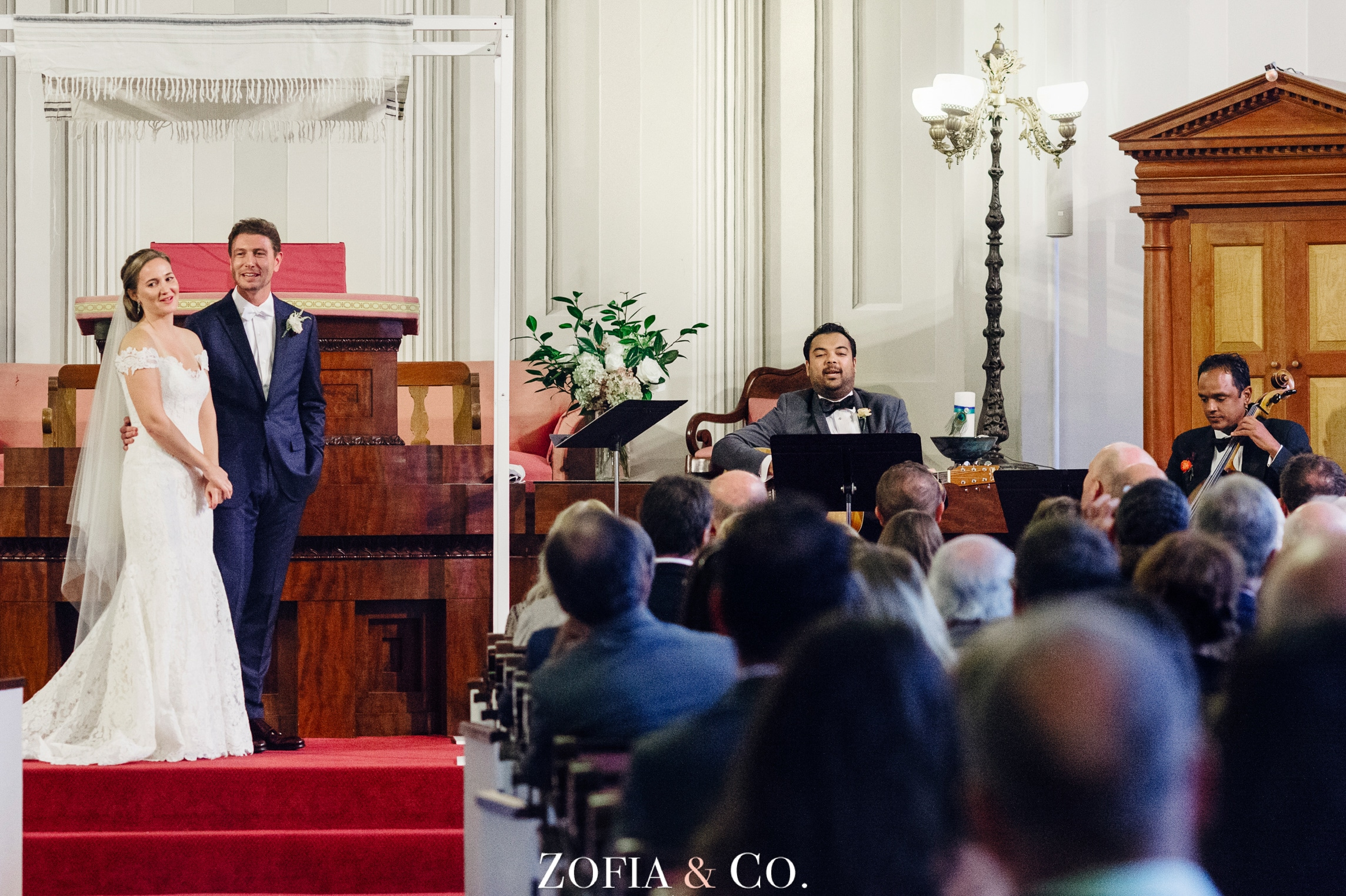 Nantucket Wedding at Unitarian Church, Great Harbor Yacht Club by Zofia and Co. Photography