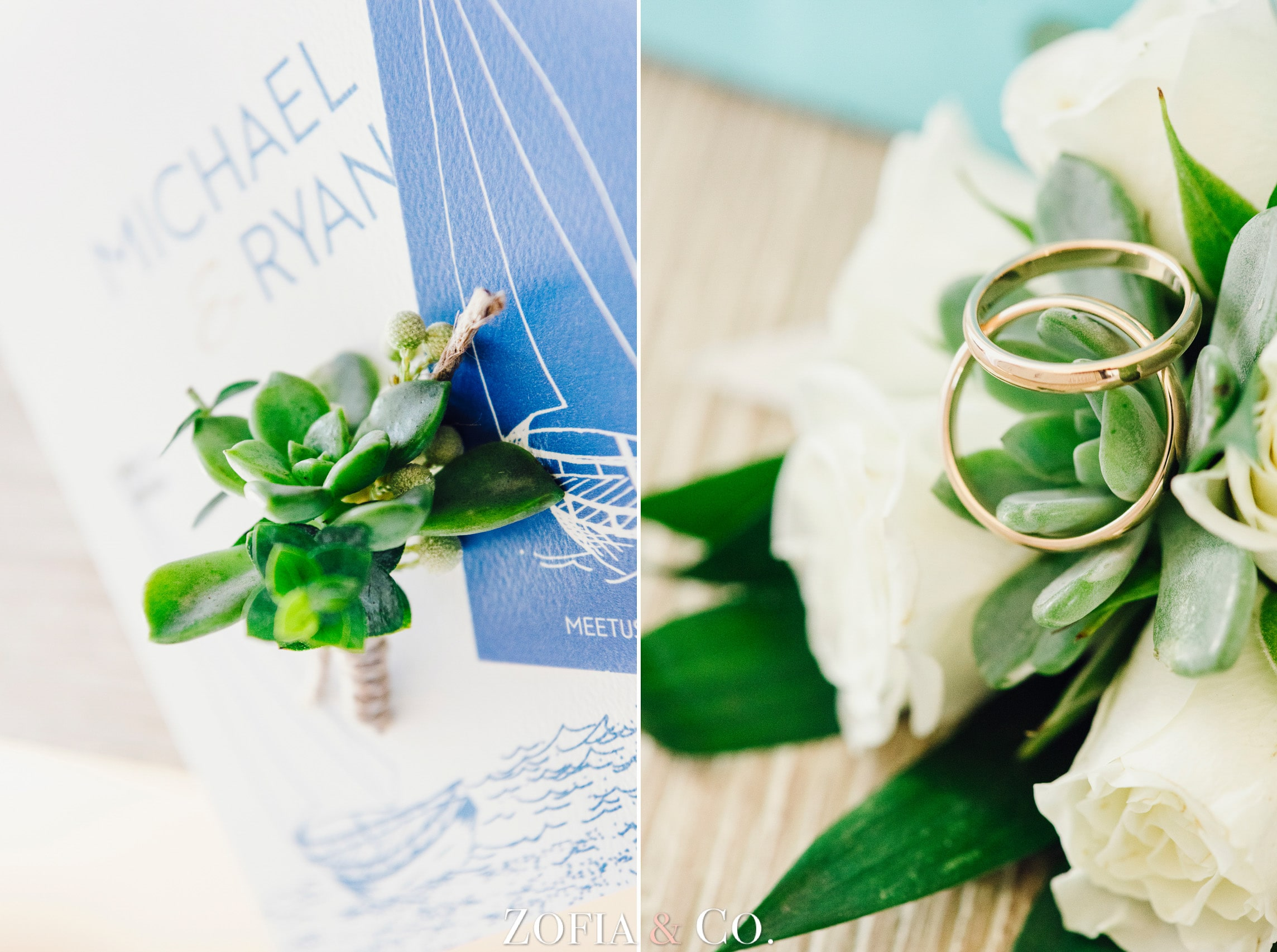 Nantucket Wedding at Brant Point and Dreamland Theater by Zofia and Co.
