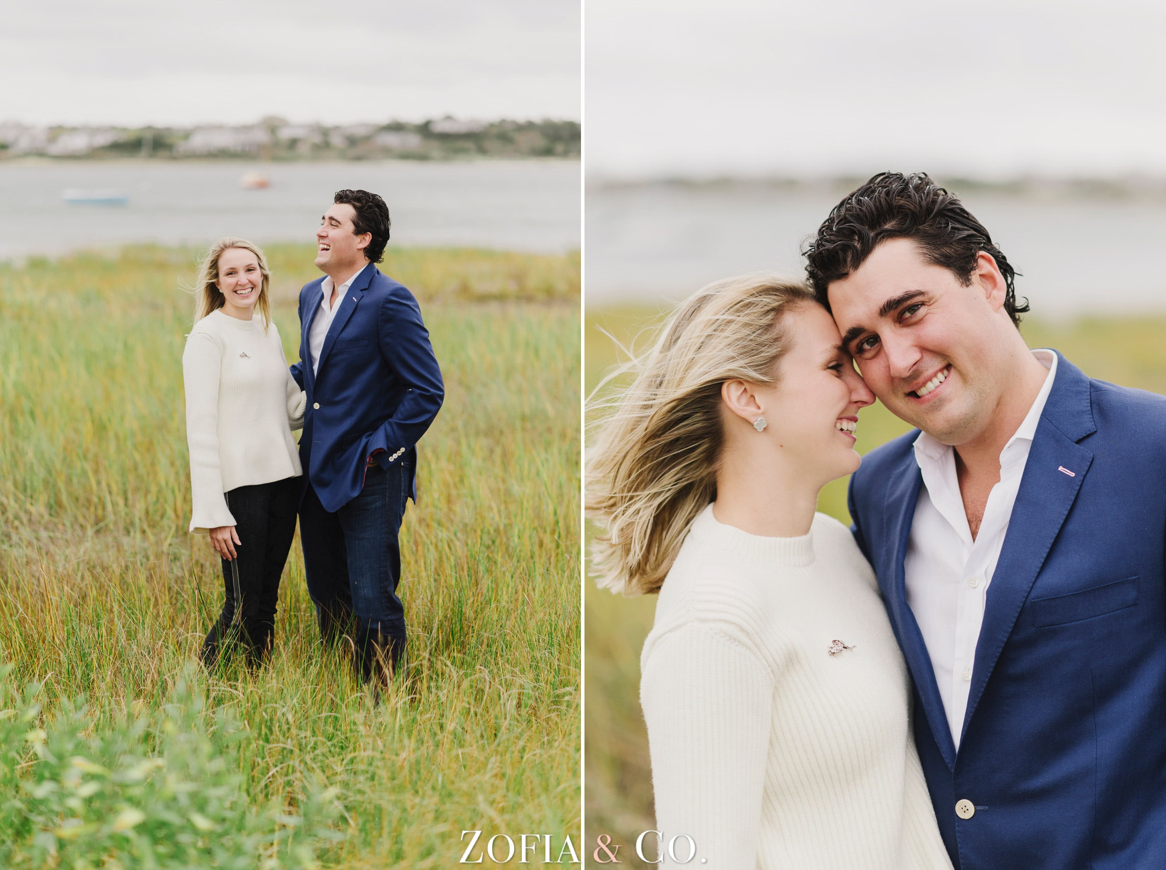 Nantucket Engagement Session by Zofia and Co.