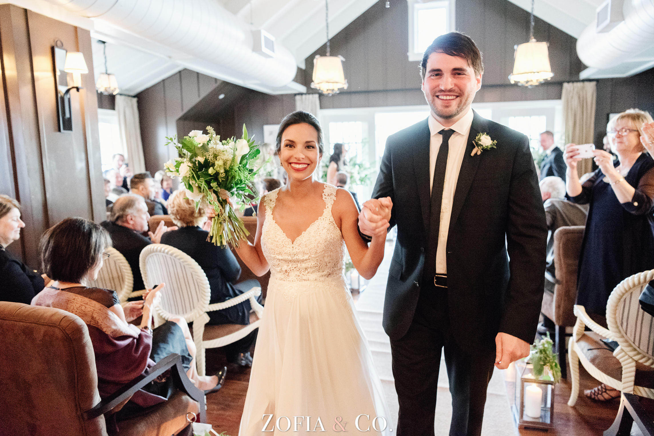 Nantucket Wedding at Great Harbor Yacht Club by Zofia and Co.
