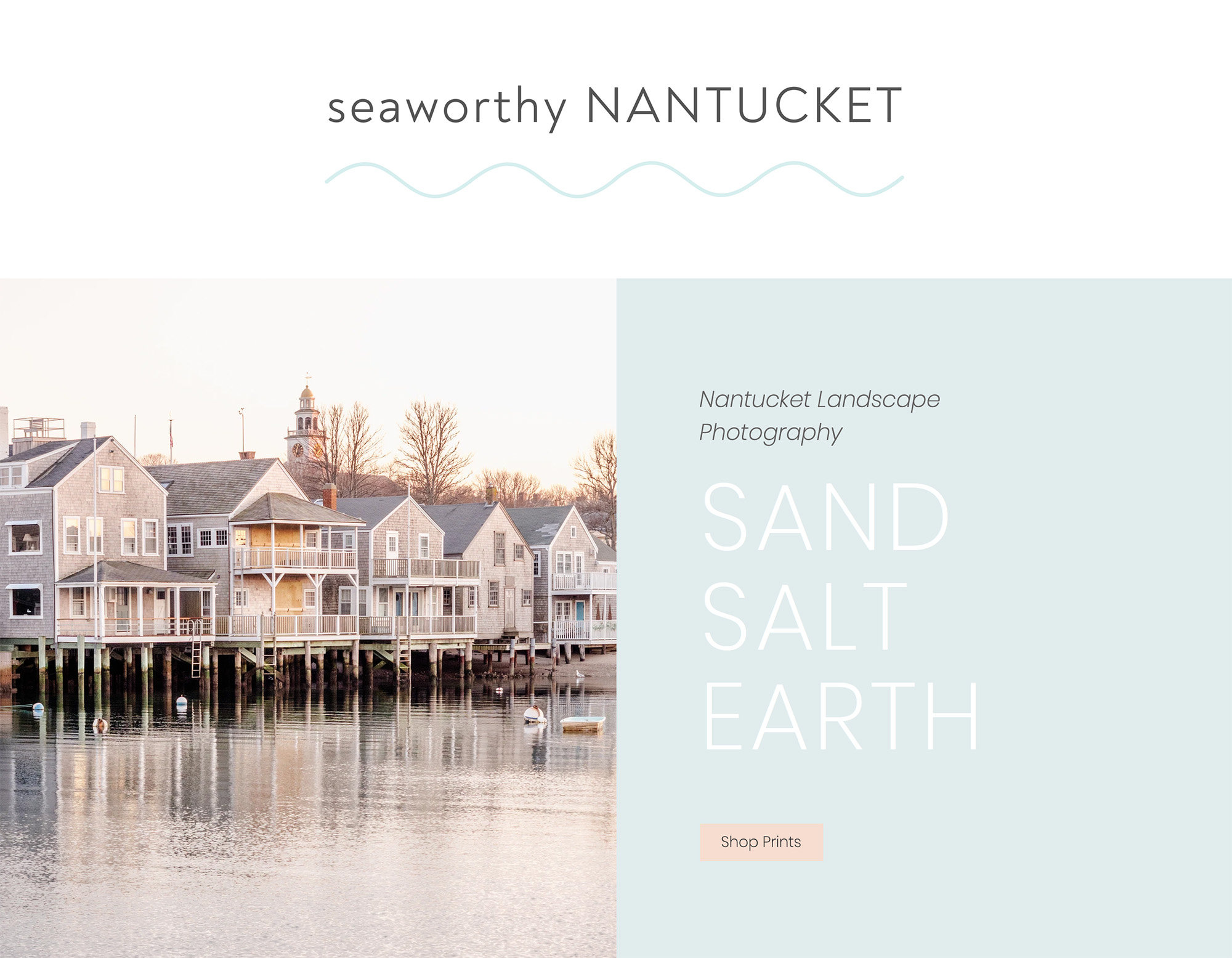 Nantucket fine art print shop