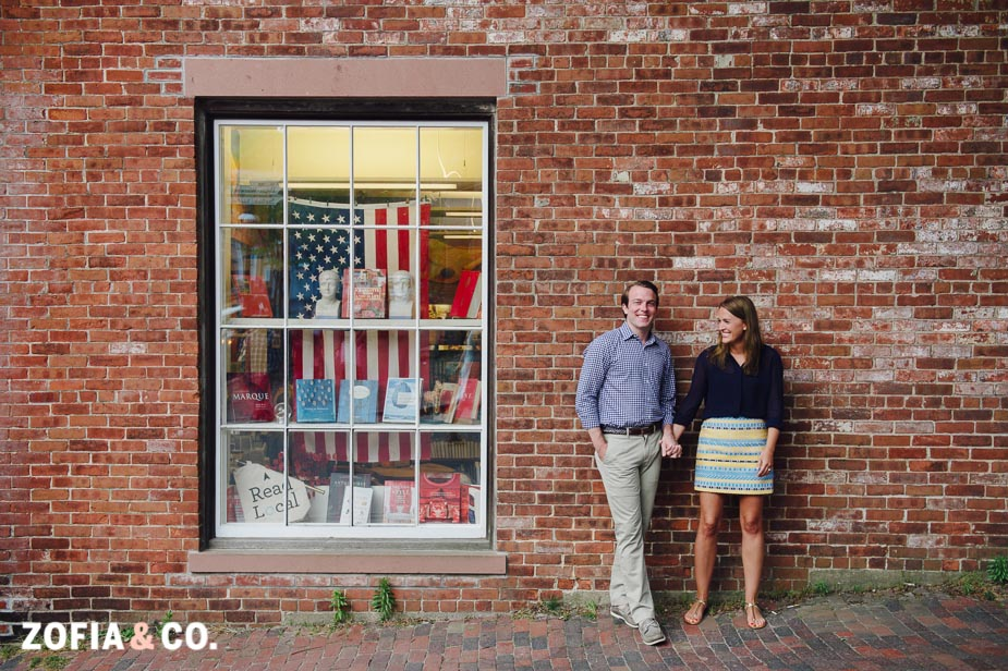 downtown nantucket portraits