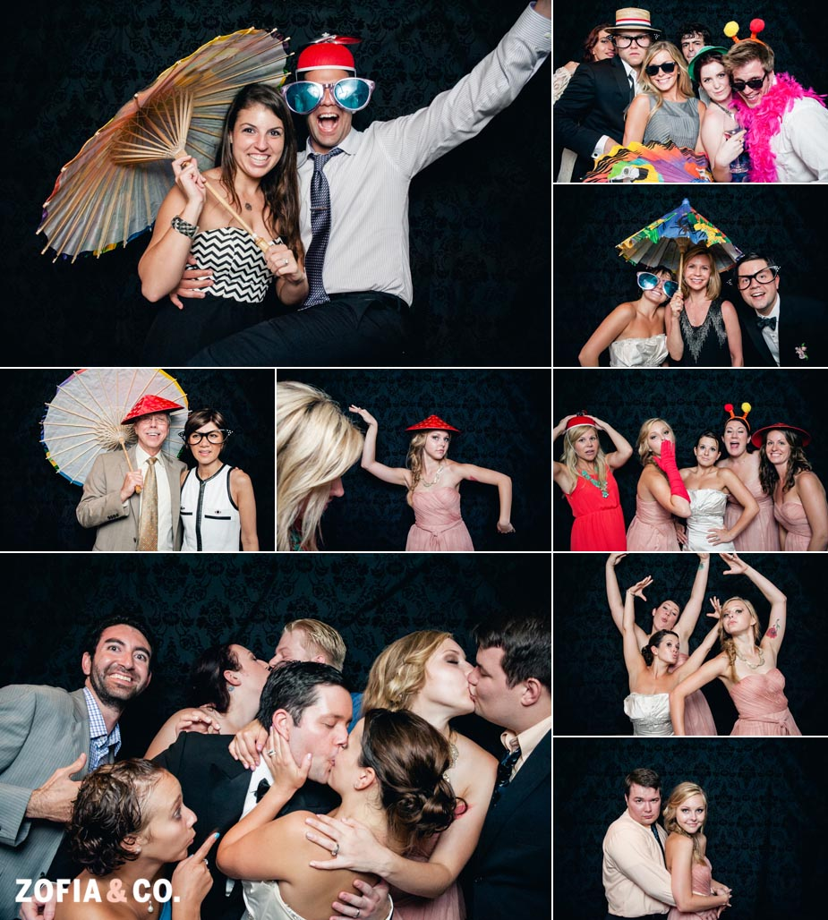 Nantucket Chanticleer Wedding with Zofia and Co Photo Booth