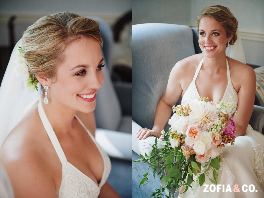 Nantucket wedding at the First Congregational Church by Zofia and Co.