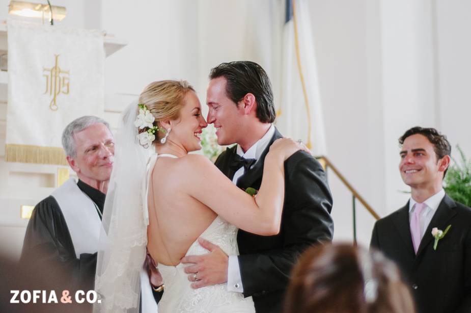 Bohemian Nantucket wedding at the First Congregational Church by Zofia and Co.