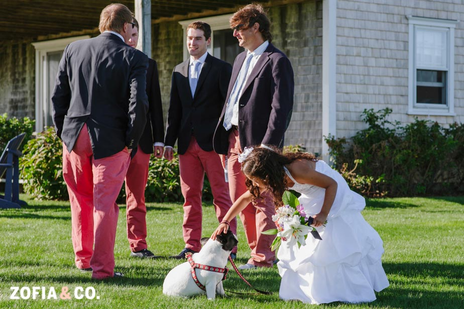 Nantucket Wedding at Madequecham by Zofia and Co