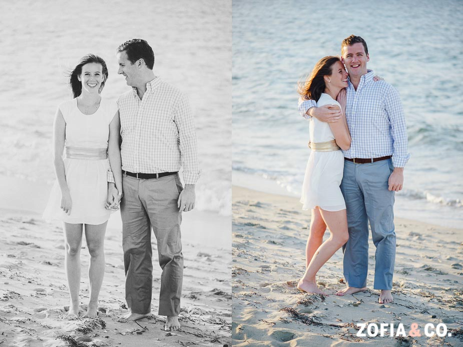 best Nantucket engagement portrait photography