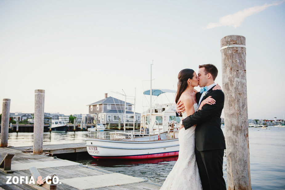 yacht club wedding on nantucket
