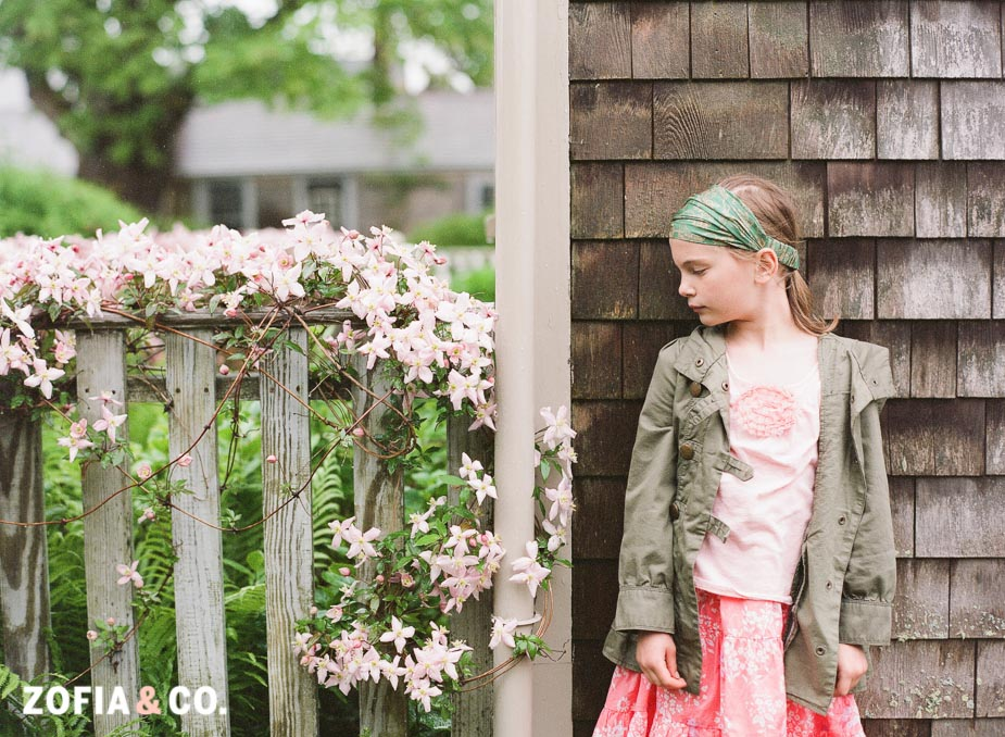 Nantucket portraits on film, Contax 645 by Zofia & Co Photography