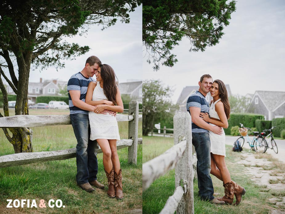 Nantucket Wedding Proposal at Steps Beach by Zofia & Co.