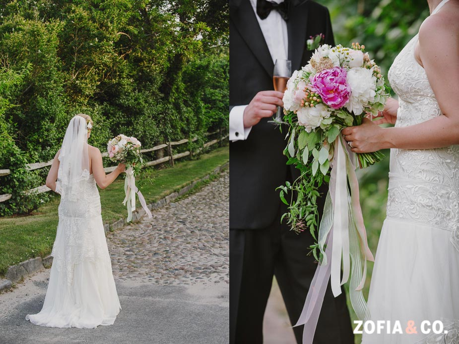Bohemian Nantucket wedding at the Whaling Museum by Zofia and Co.