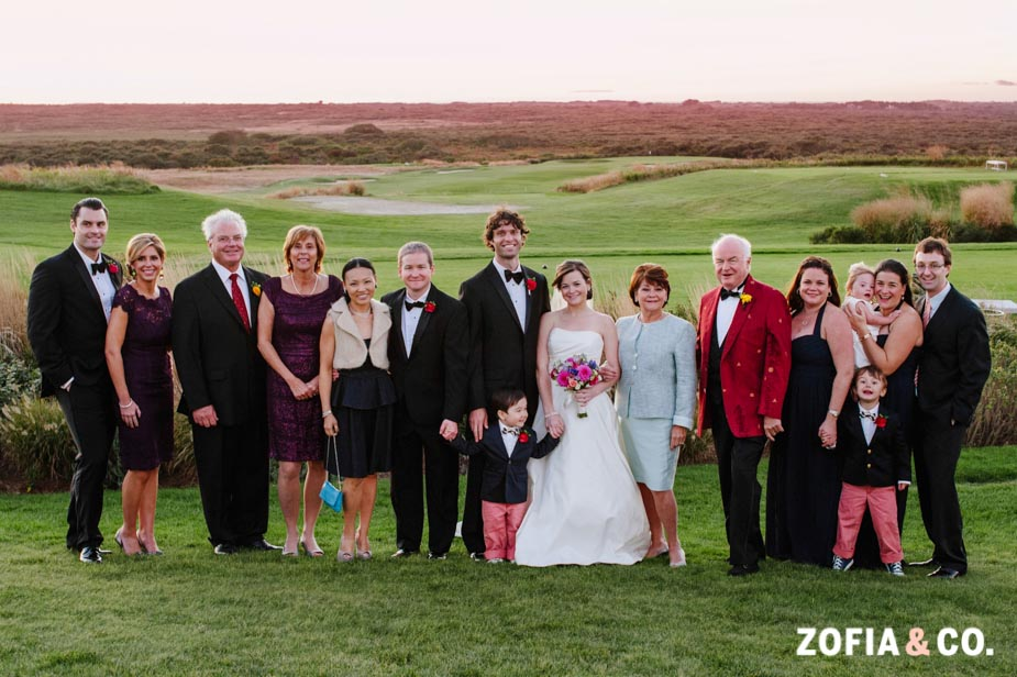Sankaty Golf Club Wedding on Nantucket in September by Zofia and Co.