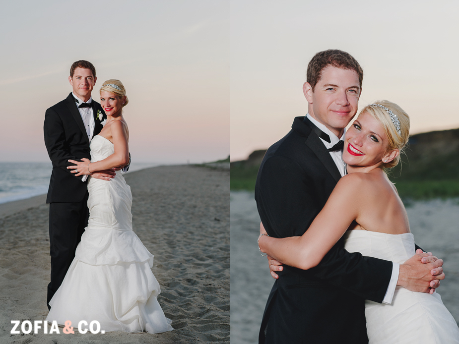 Monique Lhuillier nantucket wedding
