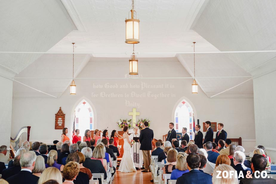 Nantucket Wedding by Zofia and Co at The Sconset Chapel