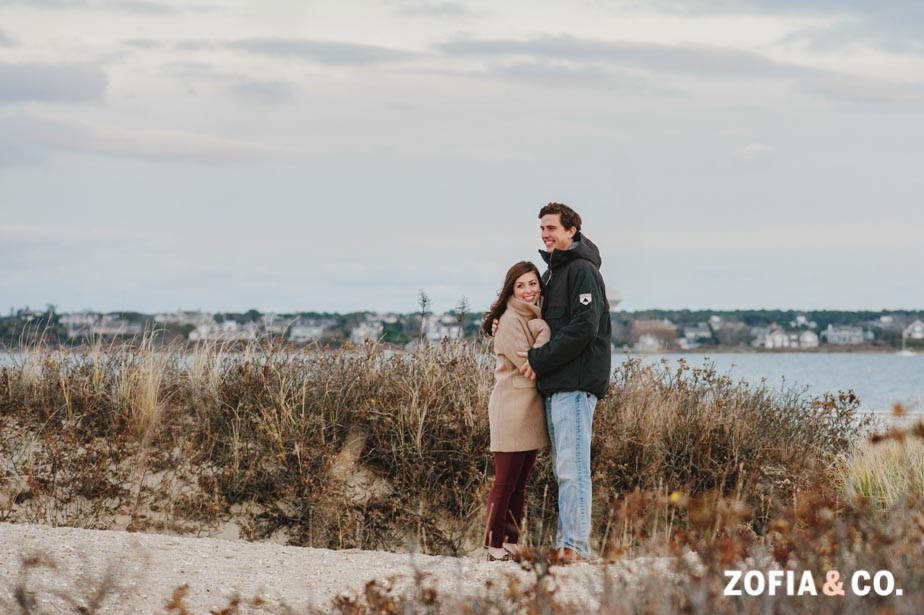 Nantucket Stroll engagement photography